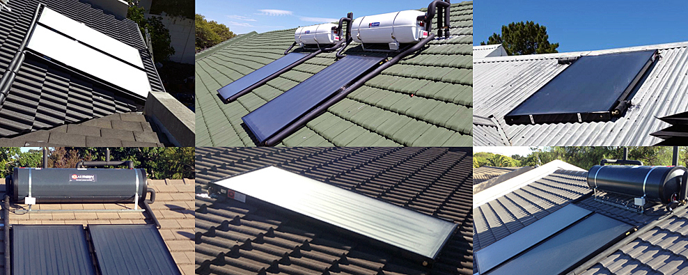 Solar Water Heating Geyser Cape Town